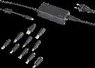 ISY IAC-1102 - Adaptateur universel pour notebook - 65 W - Noir