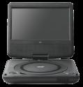 "ok. OPD 720 - Trabarer DVD Player - 7"" LCD Display - Schwarz"
