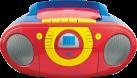 ok. ORC 511 - Radio Recorder per i bambini - Rosso/Giallo/Blu