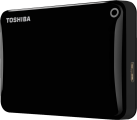 TOSHIBA Canvio Connect II, 3 TB, schwarz