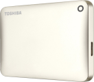 TOSHIBA Canvio Connect II, 3 To, blanc