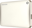 TOSHIBA CANVIO CONNECT II, 3 To, doré satiné