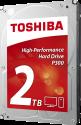 TOSHIBA P300 - disque dur interne de 3.5 - 2 To - argent