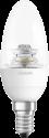 OSRAM LED SUPERSTAR CLASSIC B, E14, 6W, transparente