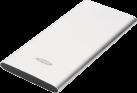 ednet. Slim Line - Powerbank - 5000 mAh - Silber