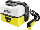 KÄRCHER Mobile Outdoor Cleaner OC 3 - Idropulitrice - Con batteria ioni di litio - Giallo/Bianco
