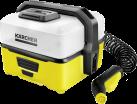 KÄRCHER Mobile Outdoor Cleaner OC 3 - Druckreiniger - Mit Lithium-Ionen-Akku - Gelb/Weiss