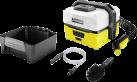 KÄRCHER Mobile Outdoor Cleaner OC 3 Adventure Box - Idropulitrice mobile - Giallo/Nero