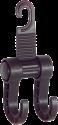 HR-imotion 10610001 - Support de sac - Avec double crochet - Noir