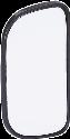 HR-imotion 10410201 - Specchietto ad angolo morto- Discreto - Nero