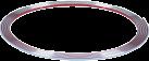 HR-imotion 12010001 - Moulure Chromé - Auto-adhésif - Chrome