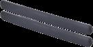 HR-imotion 12210301 - Pare-chocs Protection - Auto-adhésif - Noir