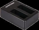 PATONA Dual - Chargeur rapide - Pour GoPro Hero 5 - Noir