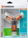 GARDENA 18287-20 - Nécessaire de dérivation en Y pour arrosage - 13 mm (1/2) et 15 mm (5/8)