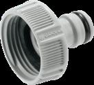 GARDENA System G 1 - Connettore rubinetto - 33,3 mm - Grigio