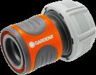 GARDENA Raccordo rapido per tubo - 19 mm (3/4) - Grigio/Arancia