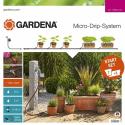GARDENA Kit d'initiation Micro-Drip System pour plantes en pots M