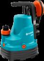 GARDENA 7000/C - Classic Klarwasser-Tauchpumpe - 300 W - Blau/Orange