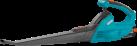 GARDENA AccuJet Li-18 - Set Souffleur polyvalent - Blow speed : 190 km/h - Noir/Bleu