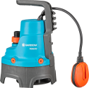 GARDENA 7000/D - Classic Schmutzwasser-Tauchpumpe - 300 W - Blau/Orange