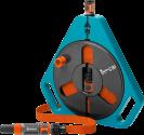 GARDENA Classic Roll-fix - Tuyau plat - 15 m - Orange/Bleu