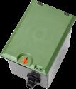 GARDENA V1 - Regard pré-montable - Pour programmateurs d'arrosage - Vert/Gris