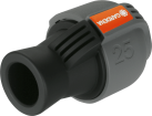 GARDENA Raccord - 25 mm femelle 20/27 - Pour GARDENA Pipelines - Noir/Gris