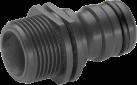 GARDENA Profi-System - Adattatore universale - Per filettato da 26.5 mm (G 3/4) - Nero