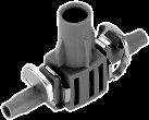 GARDENA Raccordo a T per microspruzzi, 4.6 mm, 5 pezzi