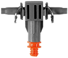 GARDENA Gocciolatore in linea, 4.6 mm, 10 pezzi