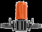 GARDENA Gocciolatore in linea regolabile,  4.6 mm, 10 pezzi