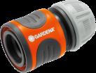 GARDENA Raccordo rapido per tubo - 13 mm (1/2)/15 mm (5/8) - Grigio/Arancia