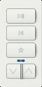 SONOS iPort xPRESS Audio Keypad - Fernbedienung - Weiss