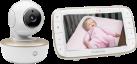 MOTOROLA MBP855 - Monitor con video digitale per neonati - con display 5.0 - bianco