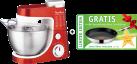 Moulinex Masterchef Gourmet PLUS Xmas Edition - Küchenmaschine - 6 Geschwindigkeitsstufen - Rot