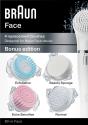BRAUN FACE SE80-m - Weiss/Pink/Blau