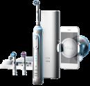 Oral-B Genius 8000 - Elektrische Zahnbürste - 8800 Rotationen/Min., 40000 Pulsationen/Min. - Weiss