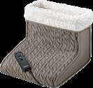 beurer FWM 45 Fusswärmer - Wärme und Massage sind getrennt einsetzbar - Braun