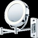 beurer BS 59 - Kosmetikspiegel - 5-fache Vergrösserung - Silber