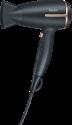 Beurer HC 25 - Asciugacapelli da viaggio - 1600 Watt - Funzione agli ioni integrata - Nero