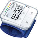 beurer BC 57 - Tensiomètre à poignet - Entièrement automatique - Blanc/Bleu