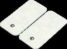 beurer Nachkauf-Elektroden Gross, Weiss