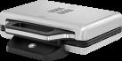 WMF LONO - Sandwich-Toaster - 800 Watt - Platz für 2 Sandwiches in jeder Grösse max. 130 x 130 mm - Edelstahl