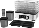 WMF KÜCHENminis® - Déshydrateur automatique - Avec 5 Dörr grilles - Cromargan Mat
