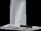 BOSCH DWB091K50 - Hotte décorative - En mode évacuation ou recyclage - Acier inoxydable
