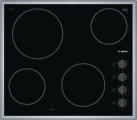 BOSCH PKE645CA1E - 60 cm piano cottura - 6600 W - Nero