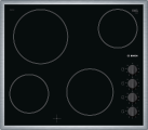 BOSCH PKE645CA1E - 60 cm plan de cuisson - 6600 W - Noir