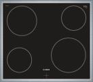 BOSCH NKE645GA1C - Piano di cottura in vetroceramica - 6600 W - Nero