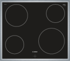 BOSCH NKE645GA1C - Plan de cuisson en vitrocéramique - 6600 W - Noir