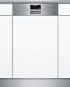SIEMENS SR56T590CH - Integrierter Geschirrspüler - Kapazität 10 Massgedecke - Edelstahl